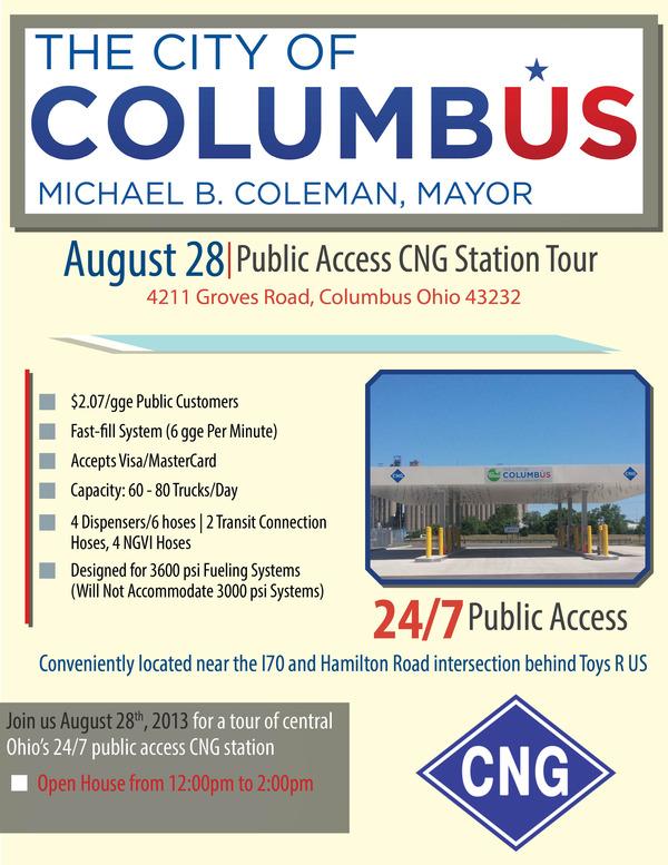 Columbus Public CNG Station Flyer